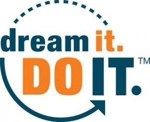 dream it. DO IT. logo